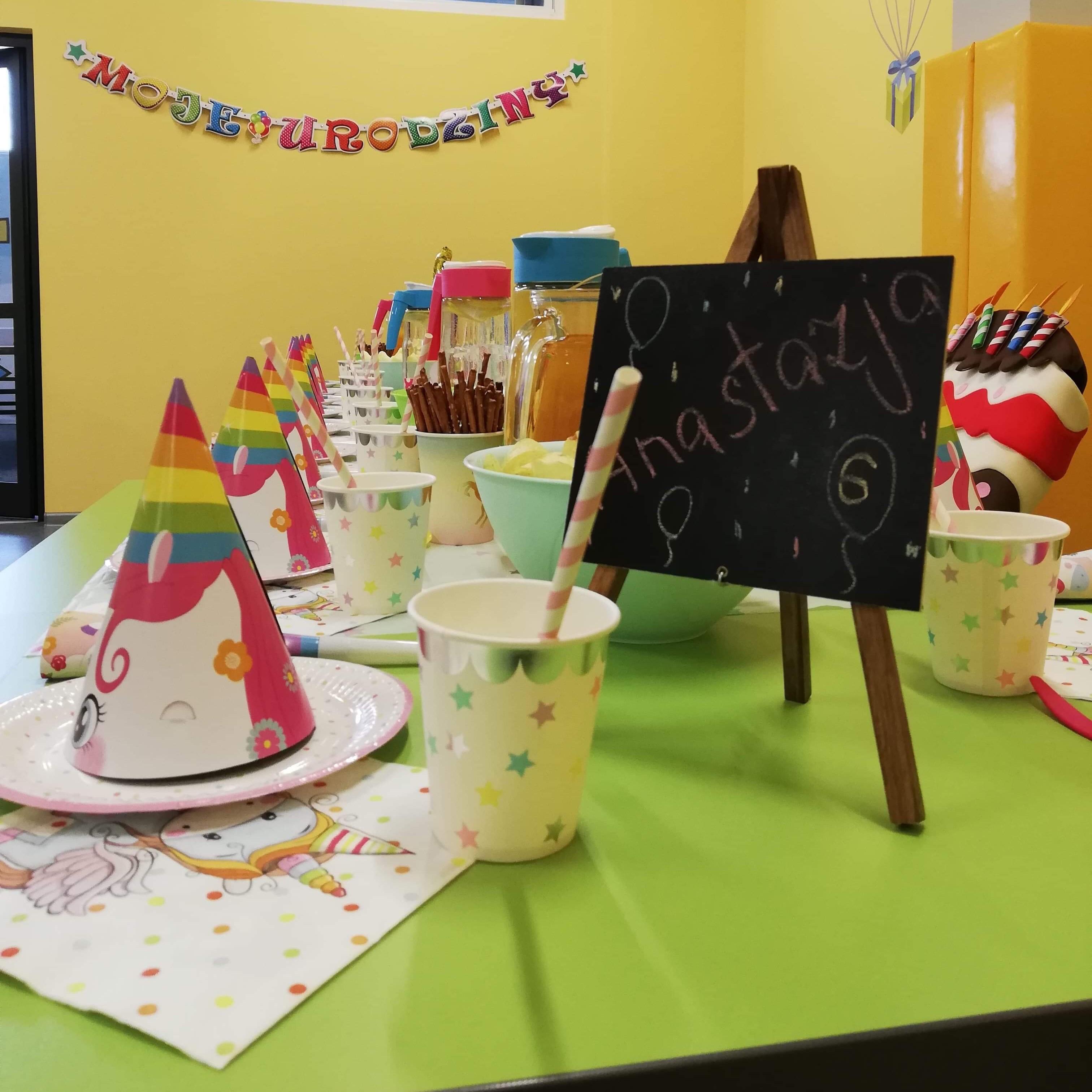 Urodziny dla dzieci w FUN&SPORT